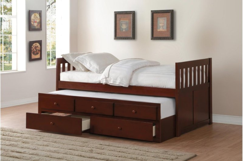 B2013prdc1 In By Homelegance In Billings Mt Twintwin Trundle Bed