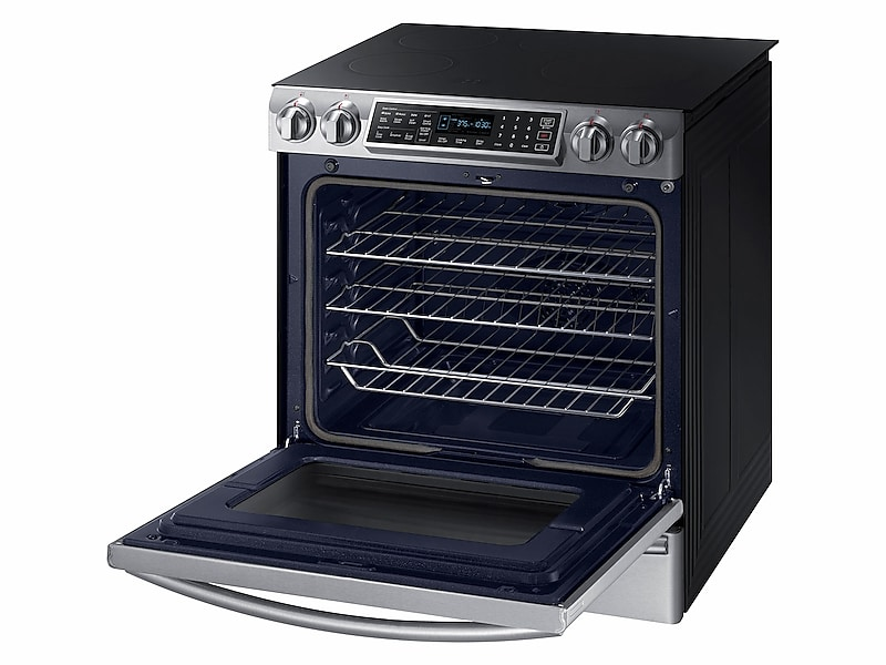 Slide In Induction Range With Virtual Flame Technology In Stainless