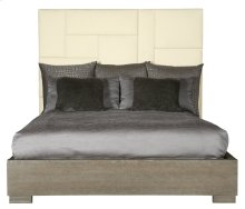 Queen-Sized Mosaic Upholstered Queen Bed