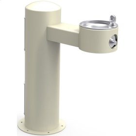 Elkay Outdoor Fountain Pedestal Non-Filtered, Non-Refrigerated Freeze Resistant Beige