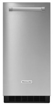 15'' Automatic Ice Maker - Stainless Steel (Dented)