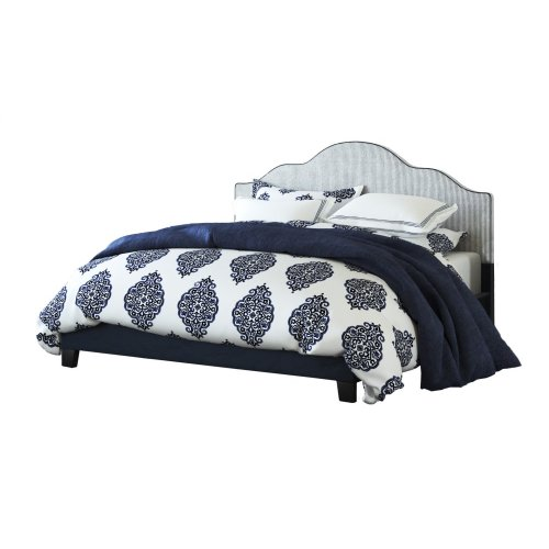 Emerald Home Anchor Bay Upholstered Bed Navy B134-08hbfbr-04