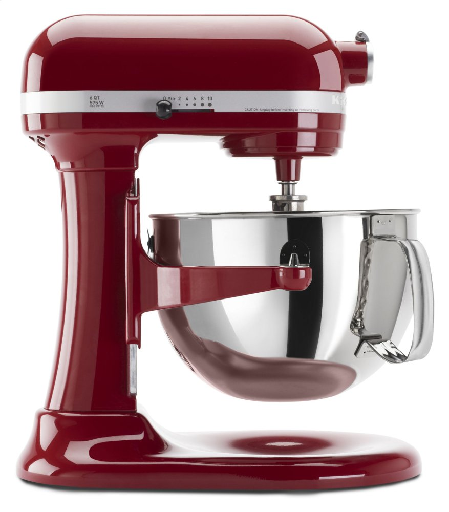 Pro 600 Series 6 Quart Bowl-Lift Stand Mixer - Empire Red  EMPIRE RED