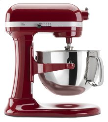 Exclusive Pro 600 Series 6 Quart Bowl-Lift Stand Mixer and Spiralizer Plus Attachment Bundle - Empire Red