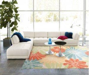Home & Garden Rs022 Iv Rectangle Rug 10' X 13'