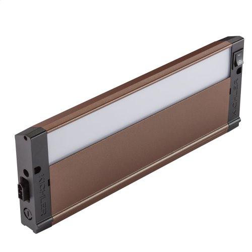 "4U Series LED Collection 12"" LED Under Cabinet 2700K in BZT"