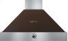Hood DECO 36'' Brown matte, Bronze 1 power blower, analog control, baffle filters