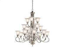 Monroe Collection Monroe 16 Light Multi-Tier Chandelier - NI
