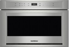"""24"""" built-in microwave drawer MW 420 620 Stainless steel"""