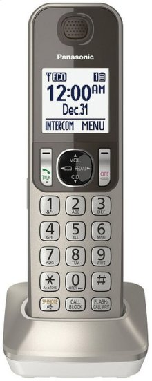 DECT 6.0 Additional Digital Cordless Handset for KX-TGF35 Series