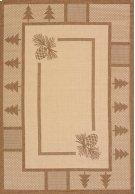 Solarium Pine Court Brown Rugs Product Image