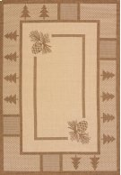 Solarium Pine Court Brown Rugs Product Image