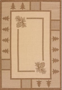 Solarium Pine Court Brown Rugs