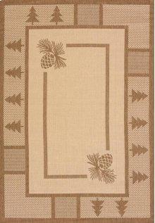 Solarium Pine Court Brown Rugs