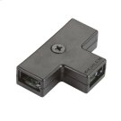 Linear LED 2-Way Wire Junction BK Product Image