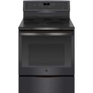 """GE Profile30"""" Free-Standing Electric Convection Range"""
