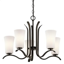 Armida Collection Armida 5 Light Chandelier - Olde Bronze