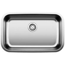 Blanco Stellar® Super Single Bowl - Stainless Steel Refined Brushed Finish