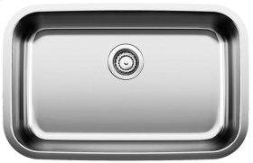 Blanco Stellar® Super Single Bowl - Stainless steel refined brushed finish