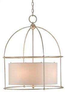 Benson Silver Lantern