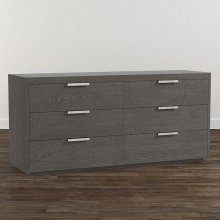 Lyon Brown B MODERN Astor 6 Drawer Dresser