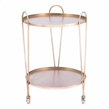 Trebede Bar Cart Gold