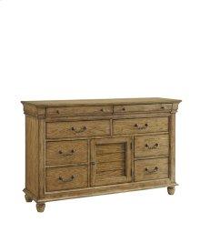 Door Dresser - Aged Oak Finish
