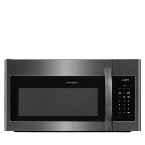 1.6 Cu. Ft. Over-The-Range Microwave - BLACK STAINLESS STEEL
