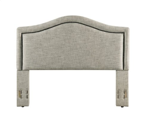Grayling Headboard - King/Cal-King, Sandstone