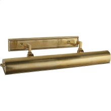 Visual Comfort AH2703NB Alexa Hampton Dean 80 watt 26 inch Natural Brass Picture Light Wall Light