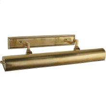 Visual Comfort AH2703NB Alexa Hampton Dean 80 watt 26 inch Natural Brass Picture Light Wall Light