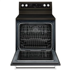KitchenaidKitchenAid(R) 30-Inch 5-Element Electric Convection Range - Black Stainless