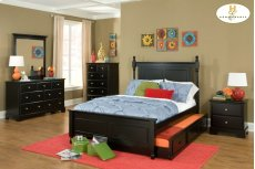 FULL Bed with Twin Trundle Product Image