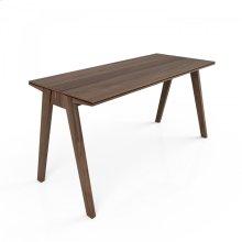 Wood top desk