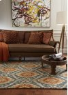 Ikat Flame Hand Tufted Rugs