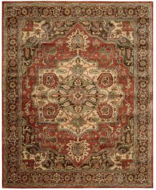 Jaipur Ja36 Red Rectangle Rug 7'9'' X 9'9''