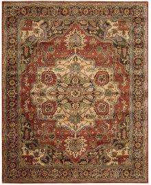 Jaipur Ja36 Red Rectangle Rug 7'9'' X 9'9''