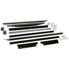 "18"" 50# Ice Maker Trim Kit - Black"
