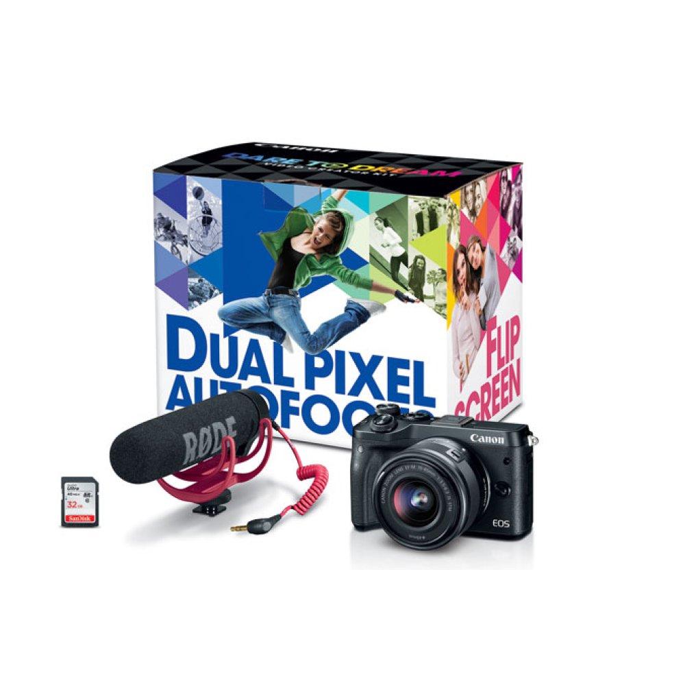 Canon EOS M6 Video Creator Kit EOS M Series Digital Cameras