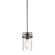 Brinley Collection Brinley 1 Light Mini Pendant OZ