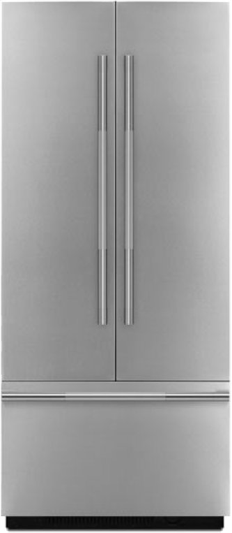 """RISE(TM) 42"""" Fully Integrated Built-In French Door Refrigerator Panel-Kit, RISE"""