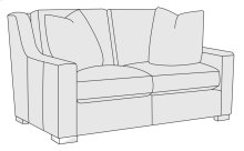 Germain Loveseat in Mocha (751)