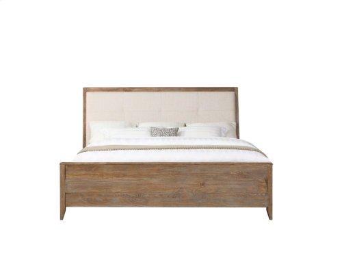 Emerald Home Torino Queen Panel Bed Kit W/uph Hb Sandstone B323-10-k