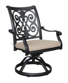 Swivel Rocker Chair -sun-heather Beige#5476