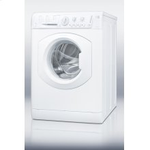 ADA compliant 110V ENERGY STAR qualified washer,built for SUMMIT by Ariston in Italy