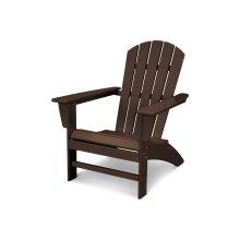 Mahogany Nautical Adirondack Chair