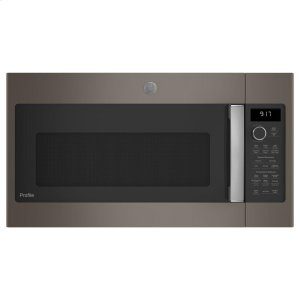 GE Profile™ 1.7 Cu. Ft. Convection Over-the-Range Microwave Oven -