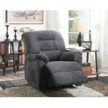 Charcoal Power Lift Recliner