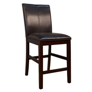 A AmericaCurved Back Parson Stool-Brown