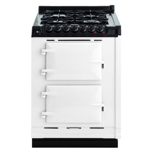 White AGA Integrated Dual Fuel Module NG